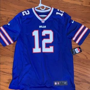 Jim Kelly buffalo bills jersey size large